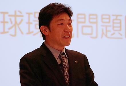 地球環境問題医療者会議の助教 川内野良蔵氏
