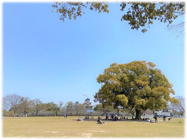 熊本城二の丸公園